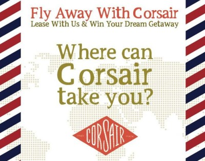 Fly Away with Corsair