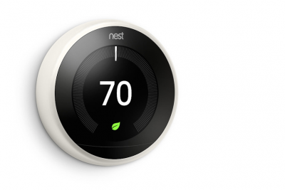 The Nest Learning Thermostat comes stanard at Corsair, apartments in New Haven.