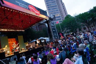 A concert on the Green is one of the many fun things to do in New Haven this summer, as recommended by Corsair, New Haven apartments. Photo c/o the International Festival of Arts and Ideas.
